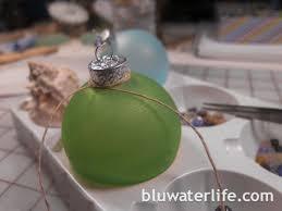 sea glass ornaments bluwaterlife