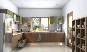 buy viola l shaped modular kitchen online in india livspace com
