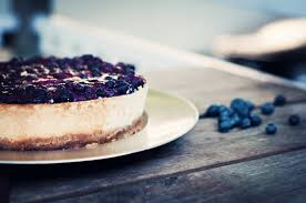 Cottage Cheese Cheese Cake by Blueberry Topped Cottage Cheesecake