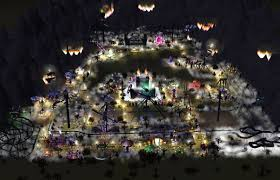 halloween horror nights time rct3 halloween horror park night time youtube