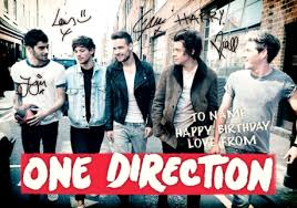 one direction cards one direction signatures birthday card funky pigeon