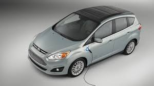 cool electric cars ford u0027s solar powered electric car takes transportation off the