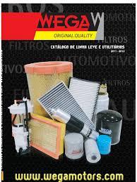 wega filtros linha leve 2011 2012 em pdf