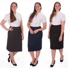 women u0027s plus size bodycon zip pencil skirt formal office workwear