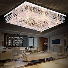 wohnzimmer deckenlen jj moderne led deckenleuchte rechteckige led licht atmosphäre