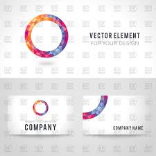 business cards illustrator template business card sample