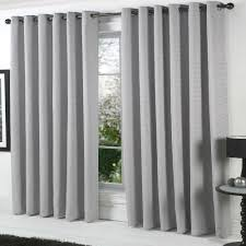 108 In Blackout Curtains by Gray Curtains U0026 Drapes Blinds Window Treatments Faux Suede Grommet