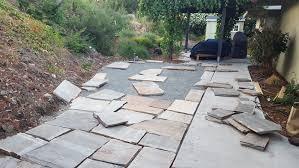 Rock Patio Designs Flagstone Patio You Can Add Garden Patio Stones You Can Add