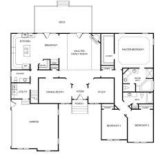 one story open floor house plans best one floor house design plans gallery liltigertoo