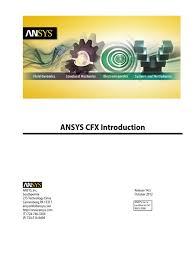 ansys cfx introduction 14 5 computational fluid dynamics fluid