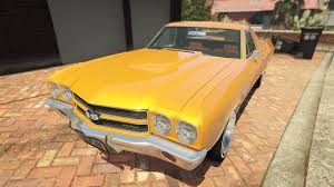 el camino orange chevrolet el camino ss 1970 gta5 mods com