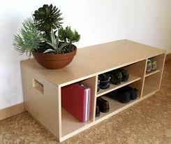 solid wood rectangular simple shoe storage bench shoe storage