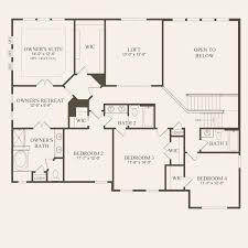 Rossmoor Floor Plans by Deer Valley At Enclave At Glenross In Delaware Ohio Pulte