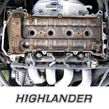 4 cylinder toyota highlander 2002 2006 toyota highlander 2 4 valve cover engine cover