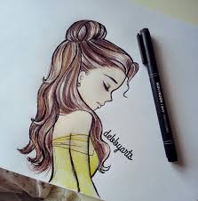 25 belle drawing ideas disney artwork
