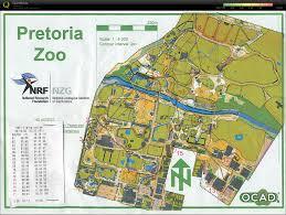 Pretoria South Africa Map by Zoos Pretoria Zoo