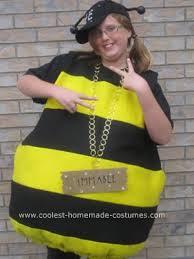 Captain Crunch Halloween Costume Coolest Homemade Bee Halloween Costume Idea Bees Jena