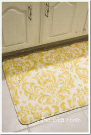 Memory Foam Kitchen Rug by Paint A Rug Memory Foam Fabrics And Craft