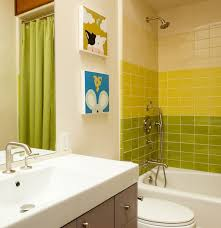 Bright Green Shower Curtain 40 Lime Green Bathroom Tiles Ideas And Pictures
