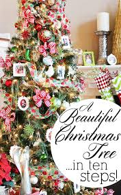 decorating christmas tree decorating a christmas tree in 10 easy steps