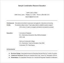 hybrid resume samples ingenious design ideas hybrid resume template 8 combination resume