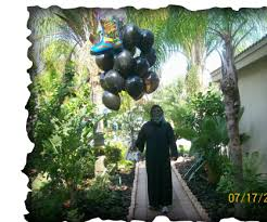 the hill birthday delivery grim reaper palm balloon event decorating ideas