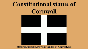 Cornwall Flag Constitutional Status Of Cornwall Youtube