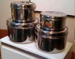 unique kitchen canisters unique canister sets etsy
