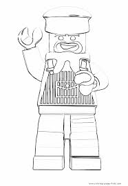 lego color coloring pages kids cartoon characters