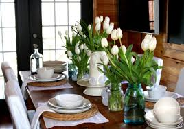 Dining Tables  Kitchen Table Centerpieces Contemporary Dining - Kitchen table decorations
