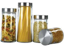 glass kitchen canisters sets organization kitchen storage containers glass jars tins glass