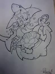 shark anchor by trikone23 on deviantart