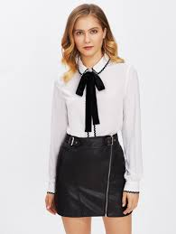 black and white blouse s blouses shirts
