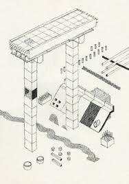 andrew degraff u0027s unfinished construction sites axonometric