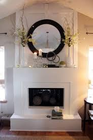 fireplace decor ideas home delightful great modern fireplace decorating ideas photos