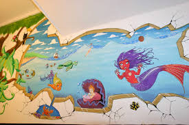 fresque chambre enfant fresque murale thibault colon de franciosi