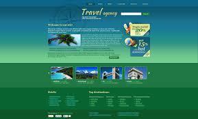 traveling websites images Website template 45648 travel agency compass custom website jpg