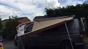 Vw T5 Awnings Direct 4x4 Pull Out Awning Vw T5 Youtube