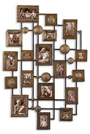 uttermost natane decorative metal wall 13465