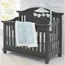 Black 4 In 1 Convertible Crib Bedroom Beautiful Space For Your Baby With Convertible Crib