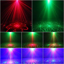 laser light 40 patterns led projector dj gear stage