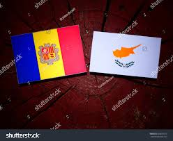 Andorra Flag Andorra Flag Cypriot Flag On Tree Stock Photo 688687012 Shutterstock