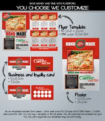 pizza fever business card template flyerforu com