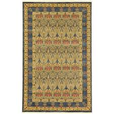 Navy And Beige Area Rugs Unique Loom Heritage Navy Blue 5 Ft X 8 Ft Area Rug 3116646