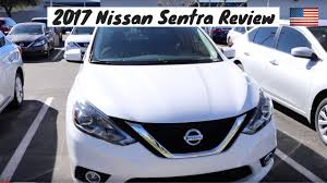 nissan sentra 2017 white 2017 nissan sentra review youtube