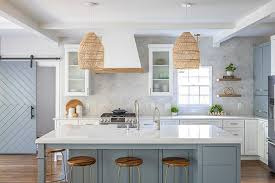 two tone kitchen cabinets white and grey two toned grey and white kitchen renovation home bunch