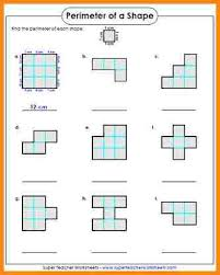 14 area worksheets 3rd grade media resumed