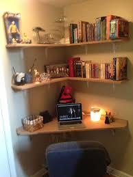 Corner Desks For Small Spaces Extraordinary Corner Desks Small Spaces At Decorating Room