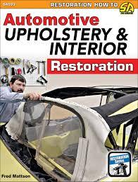 Learn How To Do Car Upholstery Cartech Books Sa Design Cartechbooks Com Car And Auto Books