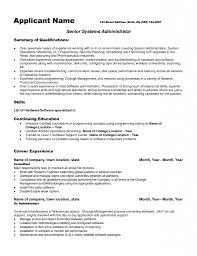 Software Engineer Resume Template Download Junior System Engineer Sample Resume